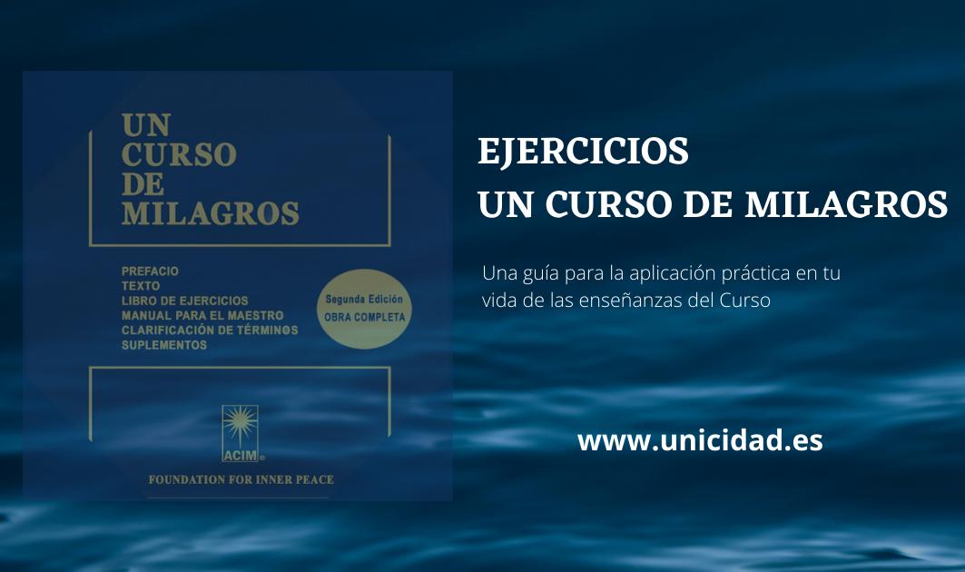 Imagen de Ejercicios Un Curso de Milagros