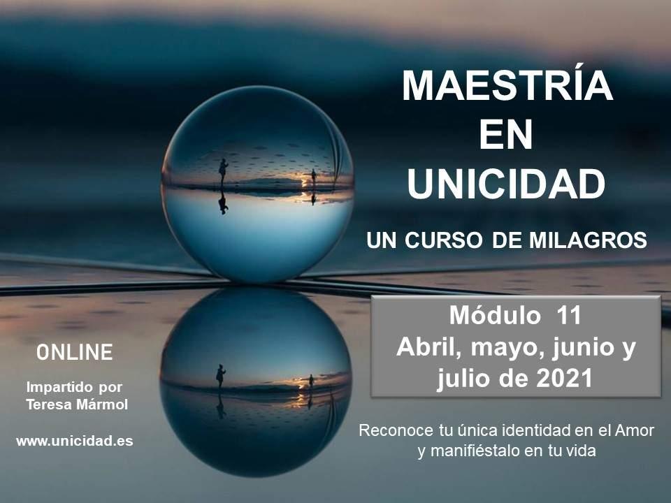 Imagen de Maestría en Unicidad: Módulo 11   Teresa Marmol