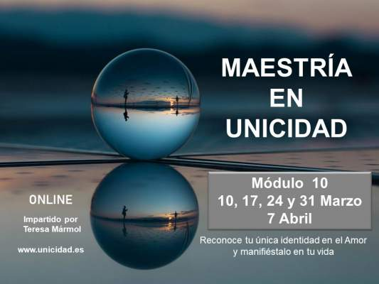 Imagen Maestría en Unicidad: Módulo 10 - Teresa Marmol