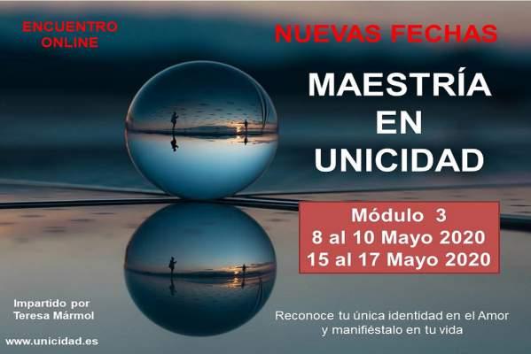 Imagen Maestría en Unicidad: Módulo 3 - Teresa Marmol