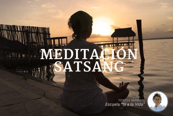 Imagen Meditación Satsang - Teresa Marmol