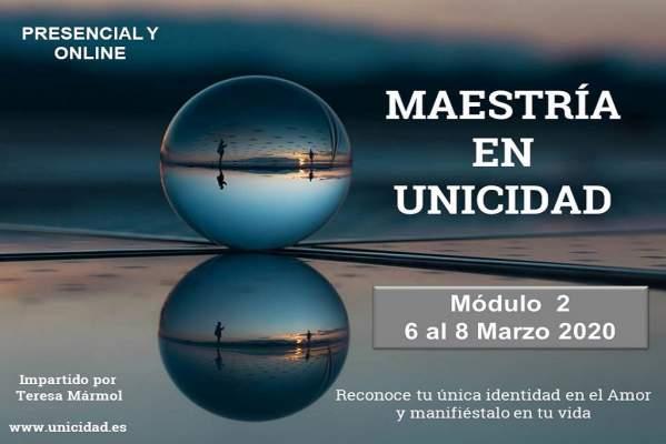 Imagen Maestría en Unicidad: Módulo 2 - Teresa Marmol